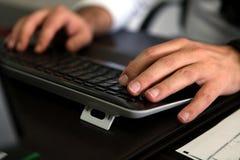 Pisać na maszynie dokument Obraz Stock