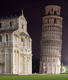 Pisa by night. (Italy, Tuscany stock images