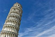 Pisa oparty Wierza Obrazy Royalty Free