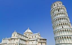 Pisa oparty wierza, Włochy Obrazy Stock