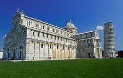 Pisa oparty wierza, Włochy Zdjęcie Stock