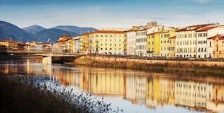 Pisa-Panorama lizenzfreie stockfotografie