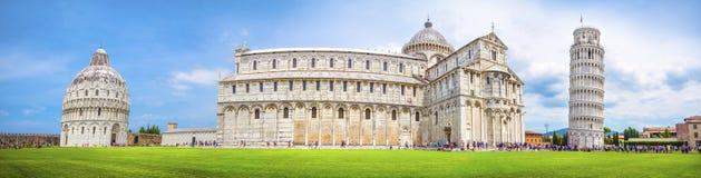 Pisa panorama, Italien Royaltyfria Foton