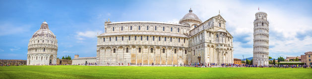 Pisa-Panorama, Italien lizenzfreie stockfotos