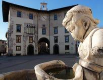Pisa piazza dei cavalieri Obraz Royalty Free