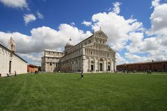 Pisa, Piazza dei miracoli Royalty Free Stock Photo