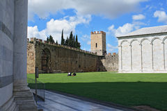 Pisa, Piazza dei miracoli Royalty Free Stock Photos
