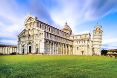 Pisa piazza dei Miracoli Zdjęcia Royalty Free