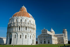 Pisa, Piazza dei miracoli. royalty free stock photography