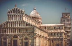 Pisa piazza dei Miracoli Obraz Royalty Free