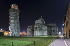 Pisa, Piazza dei miracoli Royalty Free Stock Images