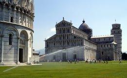 Pisa piazza dei miracoli Stock Photos