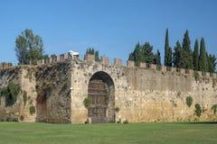 Pisa, piazza dei Miracoli, sławny katedra kwadrat zdjęcia stock