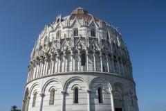 Pisa, piazza dei Miracoli, sławny katedra kwadrat Obrazy Royalty Free
