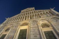 Pisa, piazza dei Miracoli, sławny katedra kwadrat Obrazy Stock