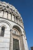 Pisa, piazza dei Miracoli, sławny katedra kwadrat Fotografia Stock