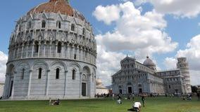 Pisa piazzadeimiracoli arkivbild