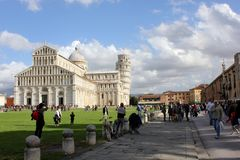 Pisa's Cathedral Square Stock Photo