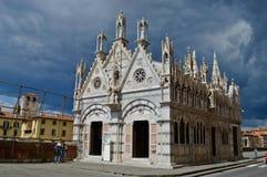 Santa Maria della Spina. Pisa small church Royalty Free Stock Images