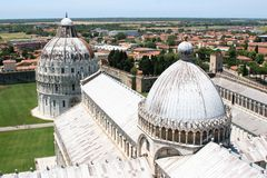 Pisa Square of Miracles Stock Photo