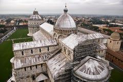 Pisa stadssikt Arkivbild