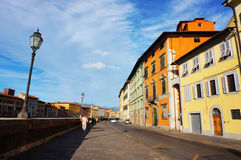 Pisa street view Royalty Free Stock Photography