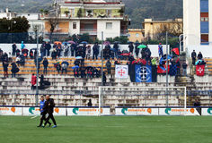 Pisa supporters Stock Photos
