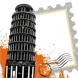 pisa torn vektor illustrationer