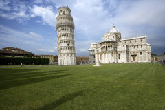Pisa torn Royaltyfri Fotografi