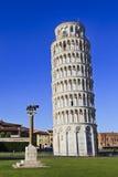 Pisa torn Wolf Day Arkivfoton