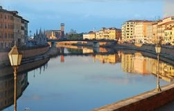 Pisa, Toscana, Italia imagen de archivo libre de regalías