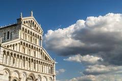 Pisa (Toscana) - la cattedrale fotografia stock
