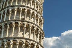 Pisa (Toscana) - la torre di piegamento Fotografie Stock Libere da Diritti
