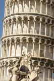 Pisa (Toscana) - la torre di piegamento Immagini Stock