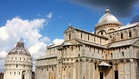 Pisa, Toscanië, Italië Royalty-vrije Stock Afbeeldingen