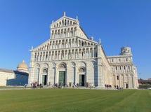 Pisa Toskana Italien Pisa-Kathedralenfassade Santa Maria Assunta lizenzfreies stockfoto