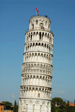 Pisa Tower. The famous leaning tower of Pisa Tuscany Italy Stock Images