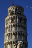 Pisa tower and bubble Stock Photo