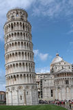 Pisa tower and cathedral Stock Photos