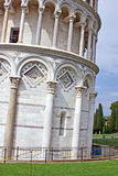 Pisa tower detail Stock Photography