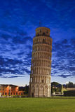 Pisa Tower Dist Rise Royalty Free Stock Images