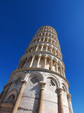 Pisa Tower, Italy. Famous italian tower, photo was taken in February Royalty Free Stock Photography