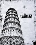Pisa Tower Royalty Free Stock Photography