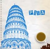 Pisa Tower Royalty Free Stock Photos