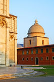 Pisa town monuments Royalty Free Stock Images