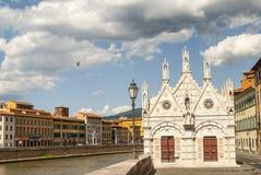 Pisa (Tuscany) - Church of Santa Maria della Spina Royalty Free Stock Photos