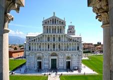 Pisa - Tuscany, Italien Fotografering för Bildbyråer