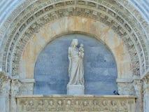 Pisa Tuscany Italien Pisa Baptistery av den StJohn Pisa dopkapellet royaltyfria bilder