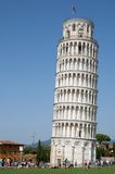 Pisa, Tuscany, Italy. The leaning tower of the Piazza dei Miracoli in Pisa, Tuscany, Italy Stock Images