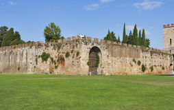 Pisa, Tuscany, Italy. New city walls. Stock Photo